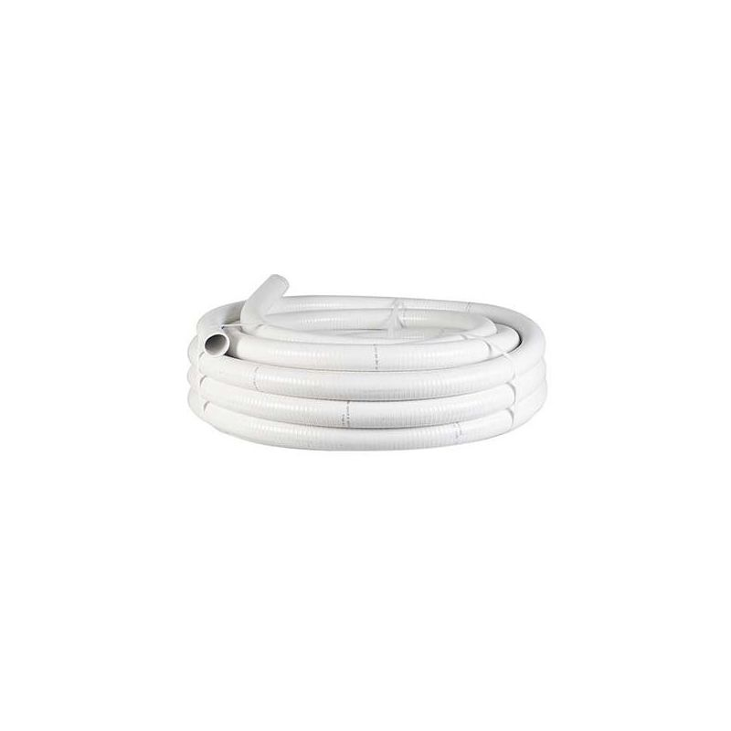 25 MT Tubo Desagüe Flexible 16x20 Blanco HP12110116 - TESTORES