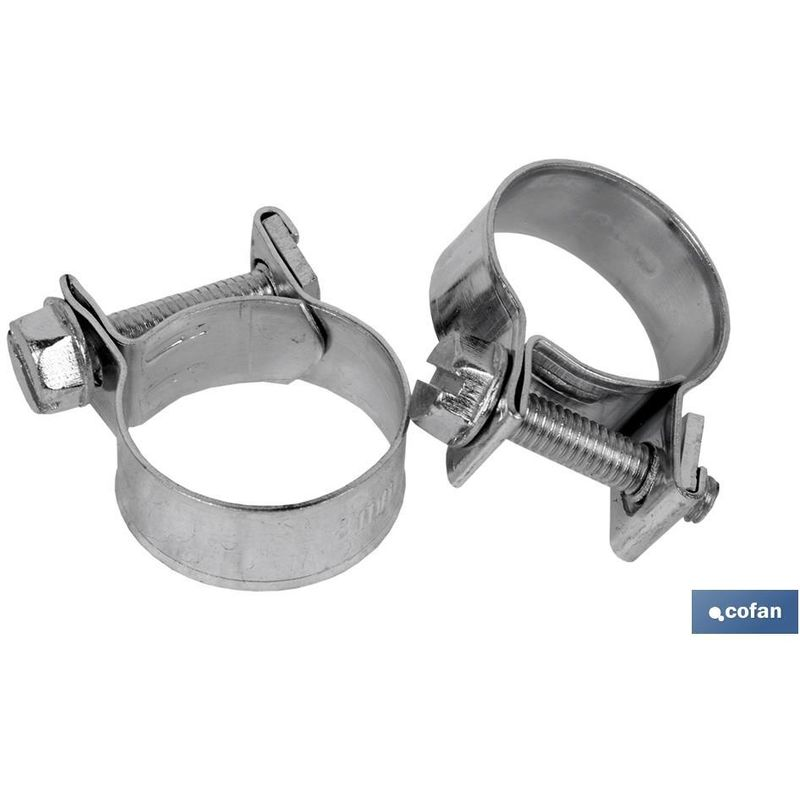 ABRAZADERAS STANDAR MINI-CLAMP 10-12 mm - COFAN