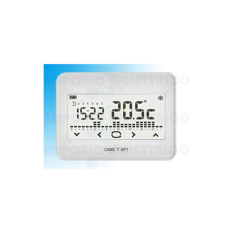 came bpt termostato programable touch screen wifi de pared th/550 wh 845aa-0060