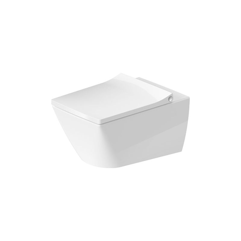 Duravit Viu wall-hung WC 251109, sin borde, 370x570 mm, color: Blanco - 2511090000 - DURAVIT AG