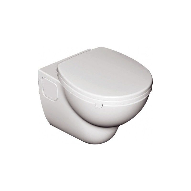 Ideal Standard Connect Freedom lavamanos de pared, sin aro S3070, color: Blanco con Ideal Plus - S3070MA