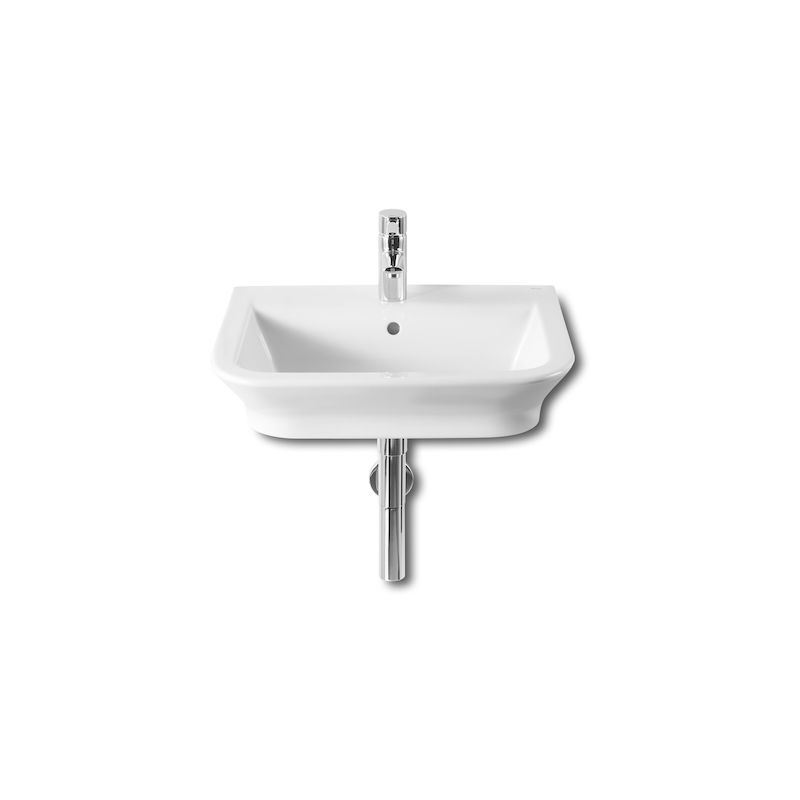 Lavabo Mural The Gap 55X47Cm Blanco - ROCA