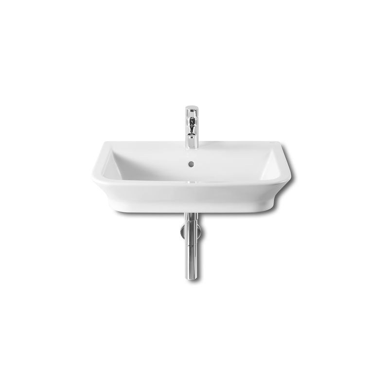Lavabo Mural The Gap 65X47Cm Blanco - ROCA