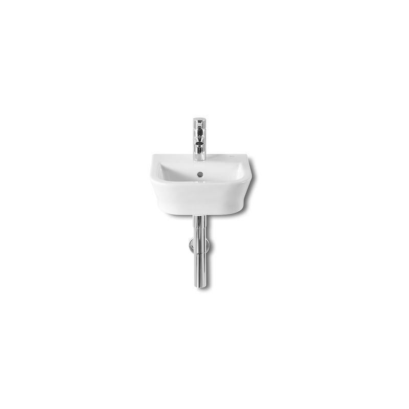 Lavabo Suspendido The Gap 35X32X17Cm Blanco - ROCA