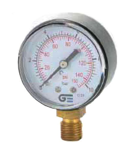 Manometro Radial 3820-10 0-10B-0.150Psi - GENEBRE