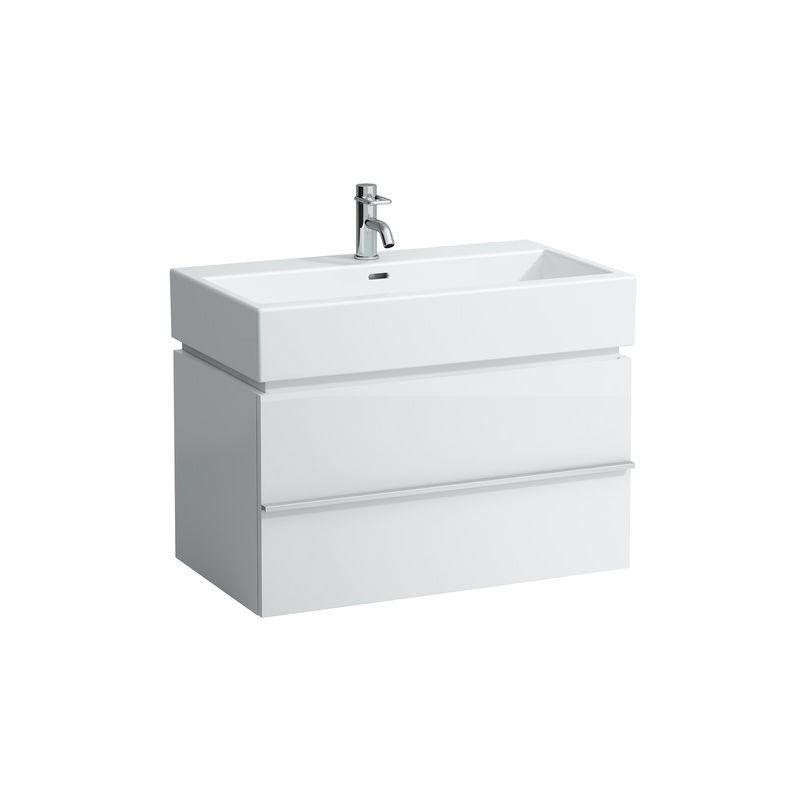 Mueble bajo lavabo Laufen, 1 cajón 455x790x455, apto para lavabo living city 817436, color: multicolor - H4012410759991