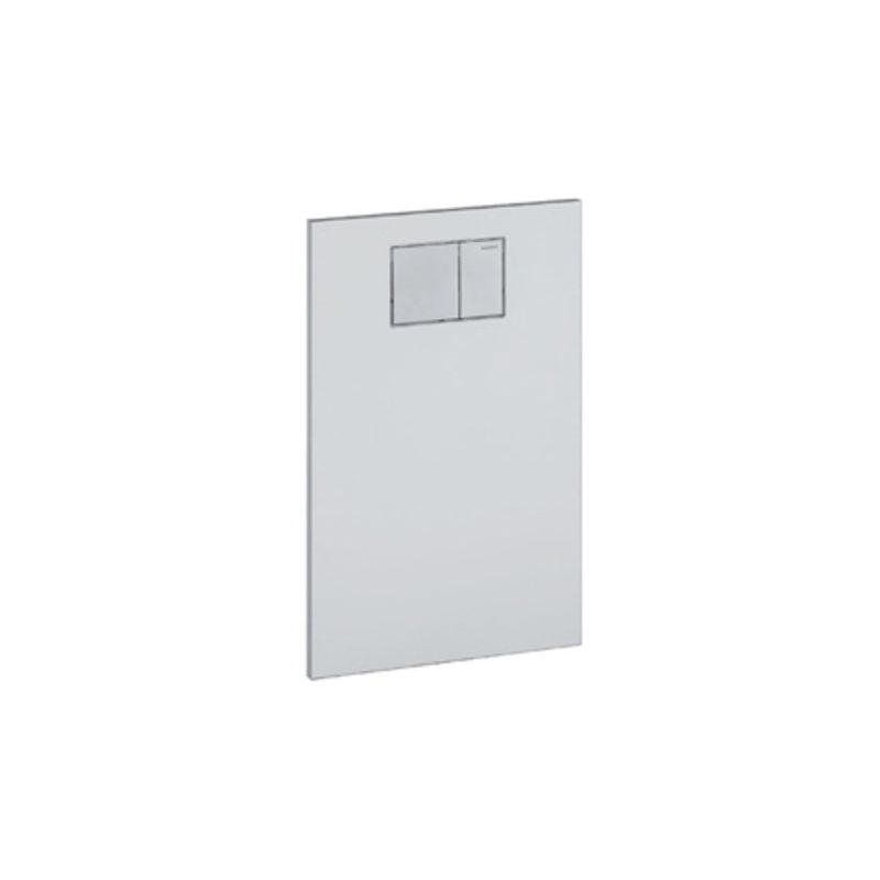 Placa de diseño Geberit para el accesorio AquaClean WC de Geberit, color: Blanco - 115.322.11.1