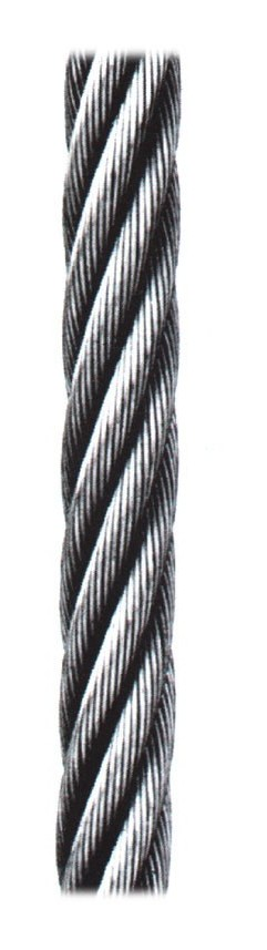 Cable Sirga Galv 100 Mt - CABLES Y ESLINGAS - 6 - 6X7+1