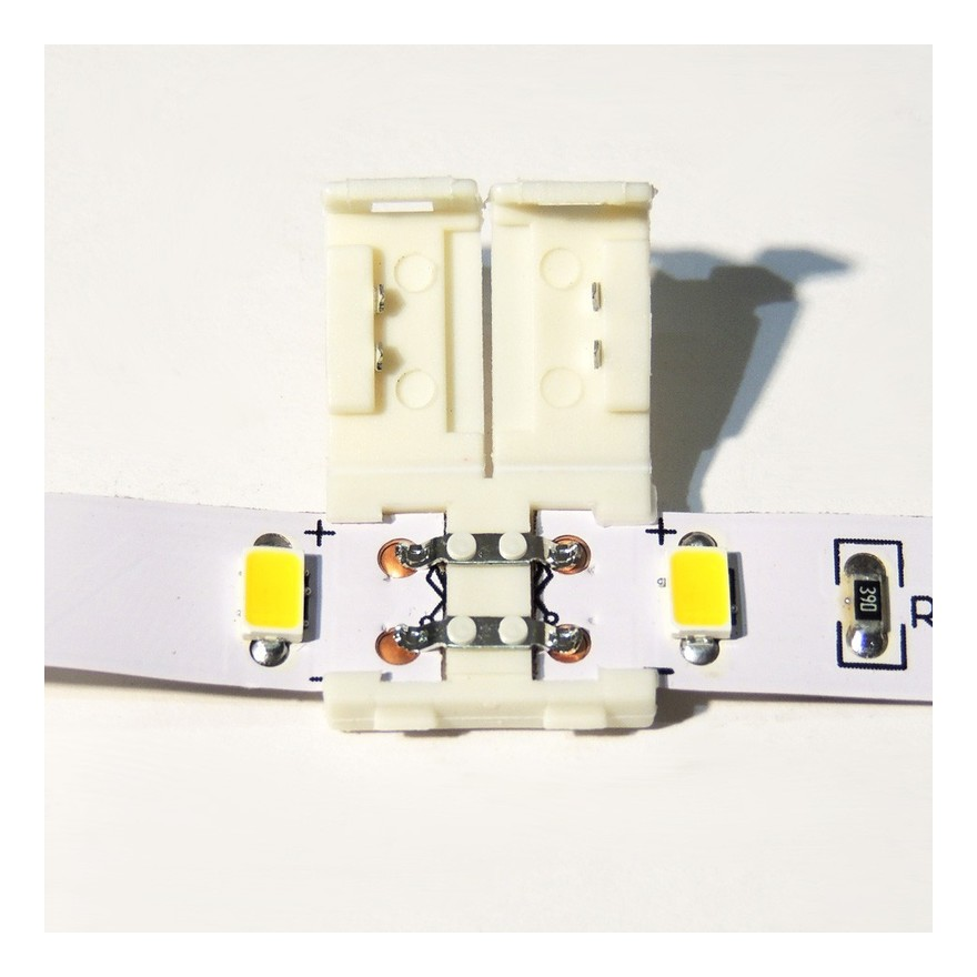 Conector directo para tiras LED 12V monocolor 10mm - BARCELONA LED