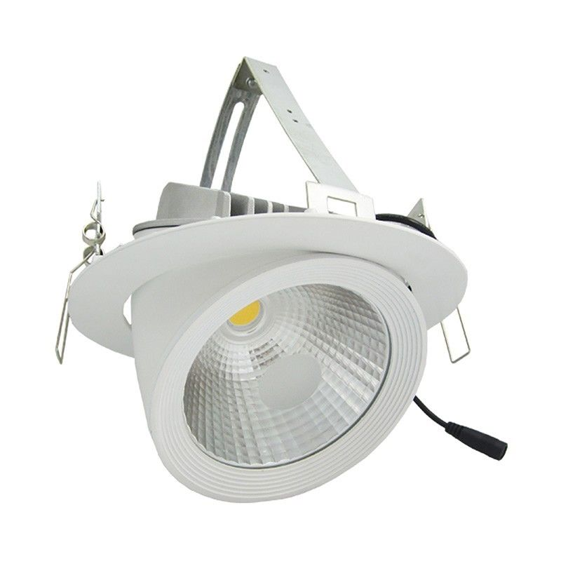 Spot LED caracol ajustable 30W Temperatura de color: Blanc naturel - ARUM LIGHTING
