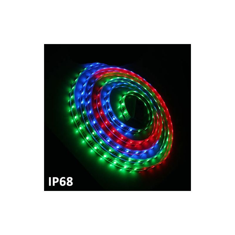 Tira de led 5m SMD5050 7.2W/m RGB Multicolor IP68 24V GSC 1504599