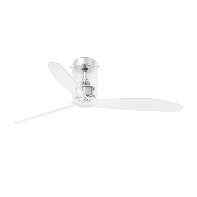 Ventilador Mini Tube Fan 1280 Mm Cristal 3 Palas - FARO BARCELONA