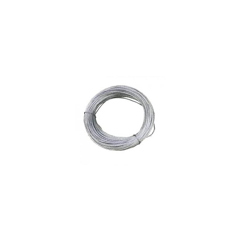 Cable VIENTOS Acerado 2mm Bobina 100mts Antena - TECATEL
