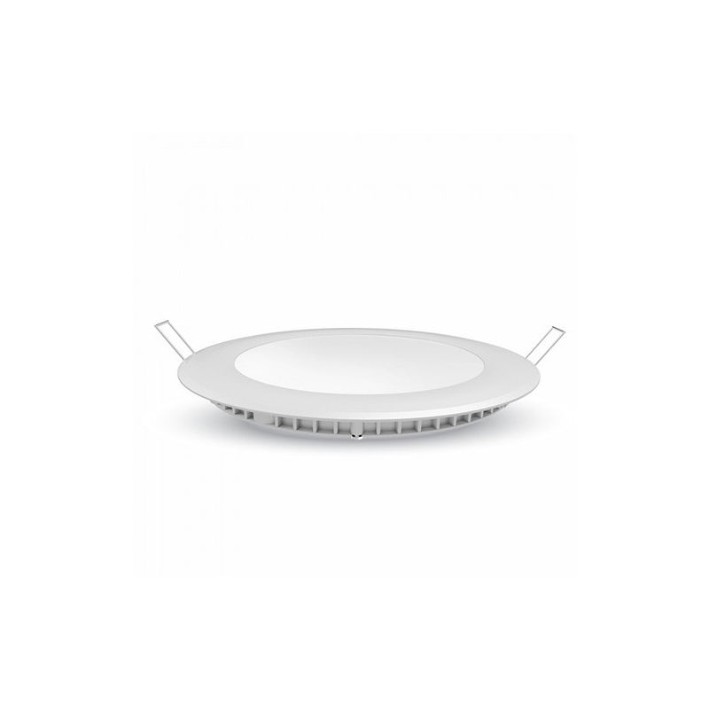 Downlight led extraplano circular blanco Samsung 24W 120° Temperatura de color - 3000K Blanco cálido - V-TAC