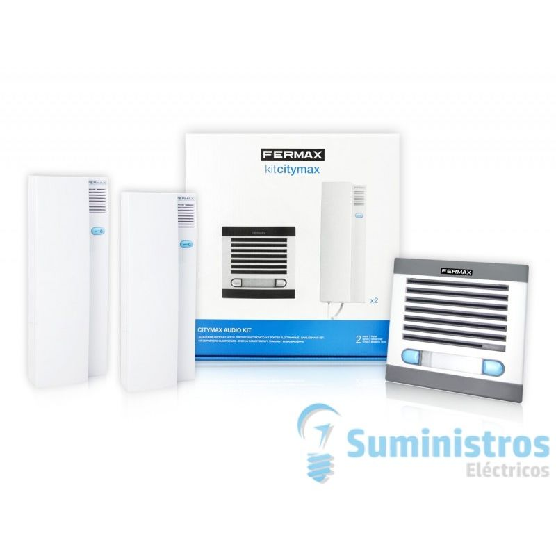 Kit portero electronico Fermax 6202 citimax 2 lineas