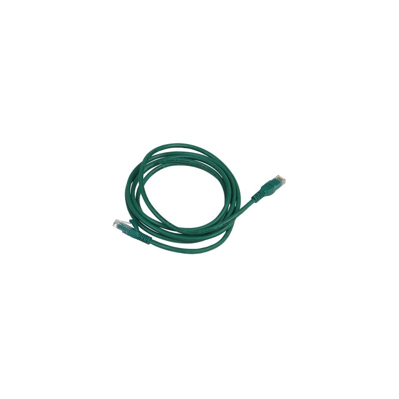 Latiguillo Cat5e UTP 2m (Verde) SCHNEIDER ELECTRIC DCEPCURJ02GNM