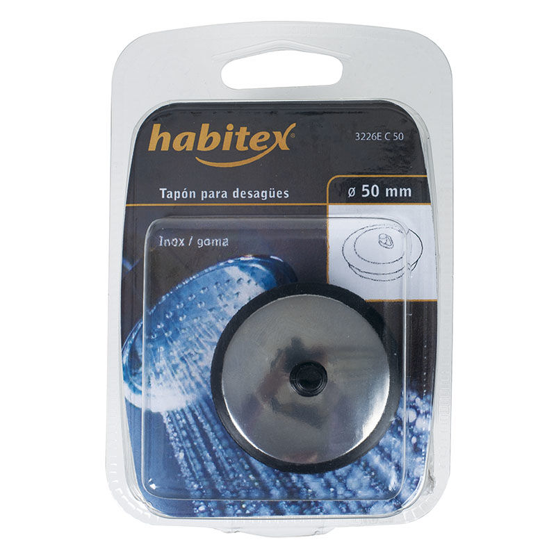 Habitex - TAPON LAVABO C/CHAPA.55MM