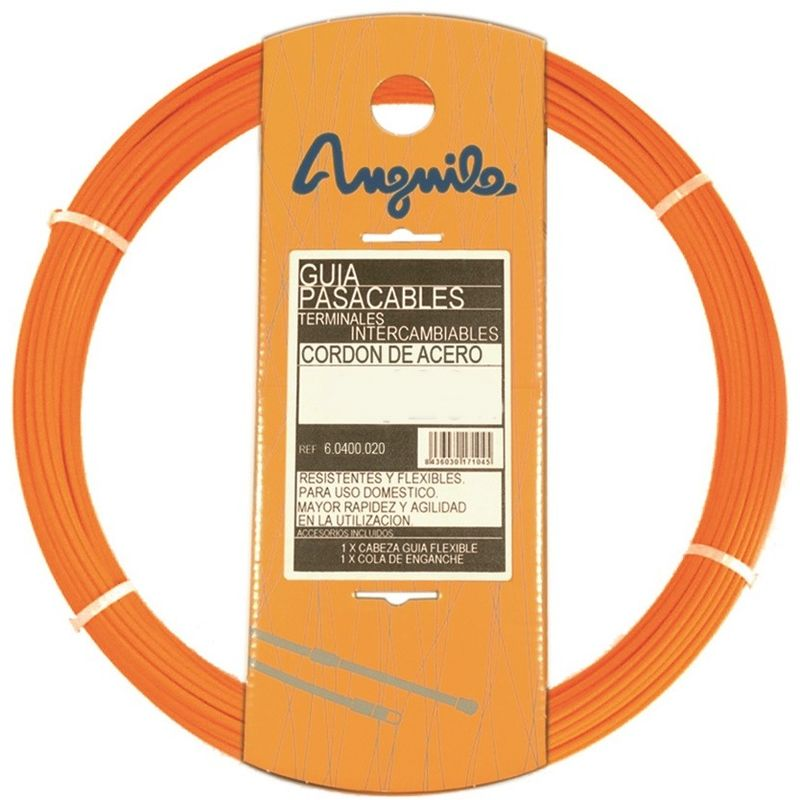 Anguila - PASACABLES ACERO NYLON 4mm 30m