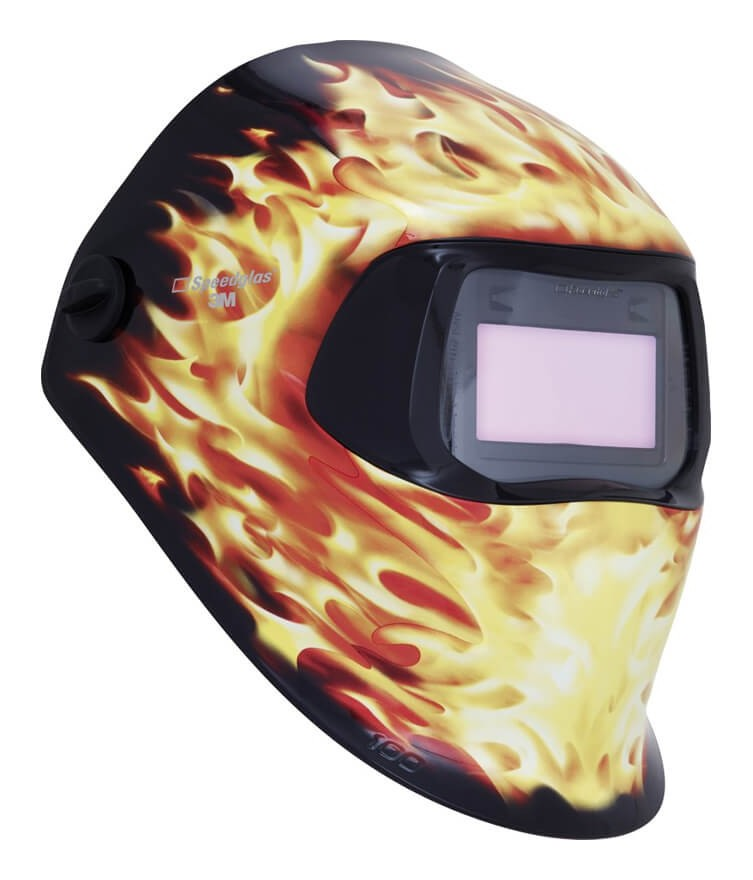 Speedglas 3m - Pantalla Speedglas 100 Graphics con filtro  Blaze - Variable 3/8-12