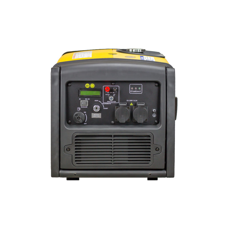 ITCPOWER - Generador Inverter 2,8/3,2 Kw. Unicamente 40 kg. Silencioso. Corriente 100% estable - ITC POWER