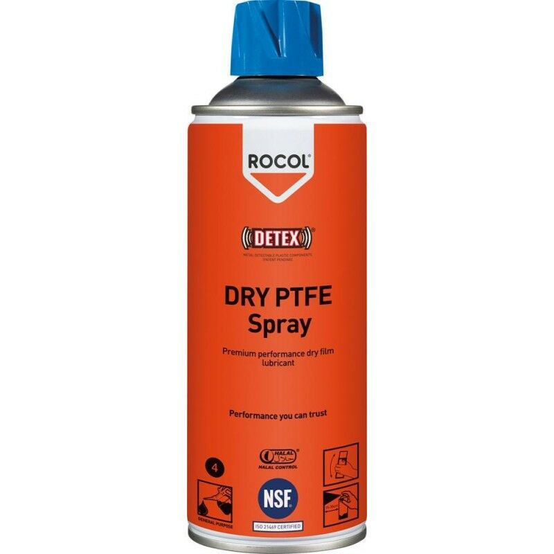ROCOL PTFE-Spray 400ML Dry PTFE Spray - NO NAME
