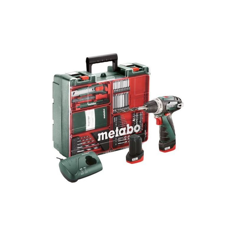 Taladro atornillador Metabo PowerMaxx BS Set