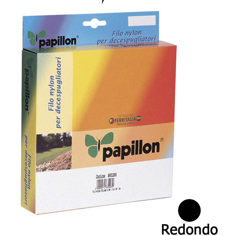 Hilo Nylon Redondo 2,0 mm. (Dispensador 100 Metros) - PAPILLON