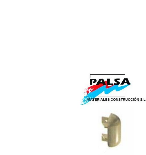 Tapa Lateral Perfil Proteccion Paredes Ref - Tap-Propal-90N1 - PALSA
