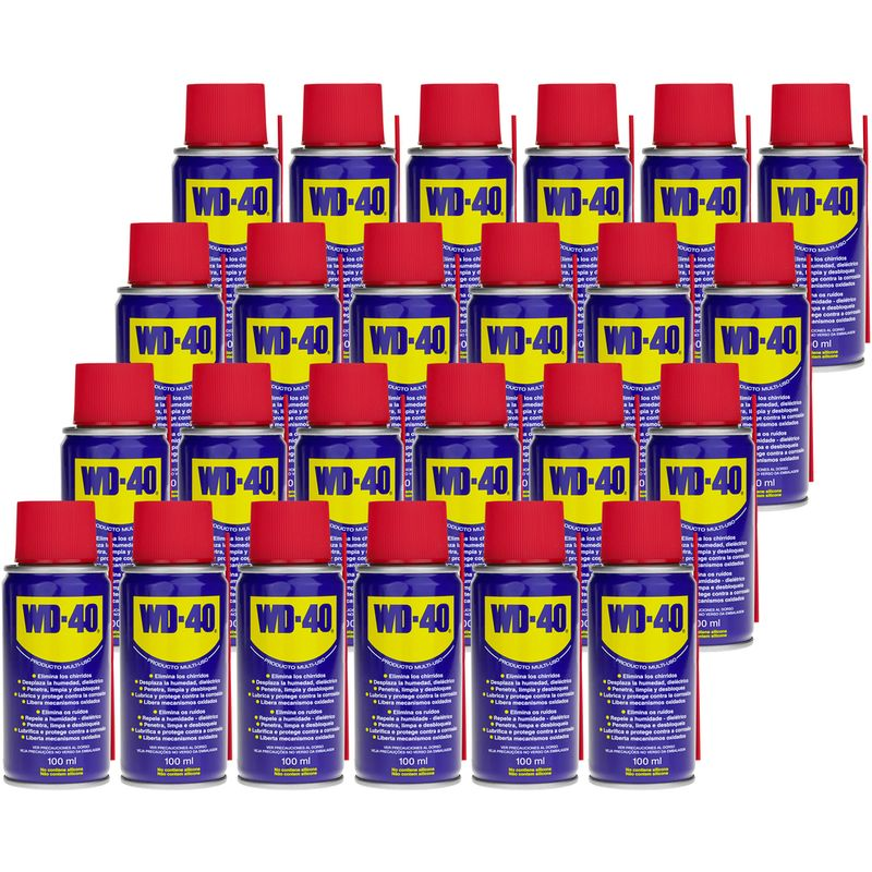 WD-40 - Spray lubricante multiuso 100 ml (caja 24 uds)