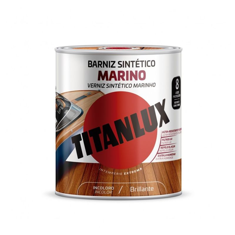 Barniz mad bri. 250 ml inc. sint marino int titanlux