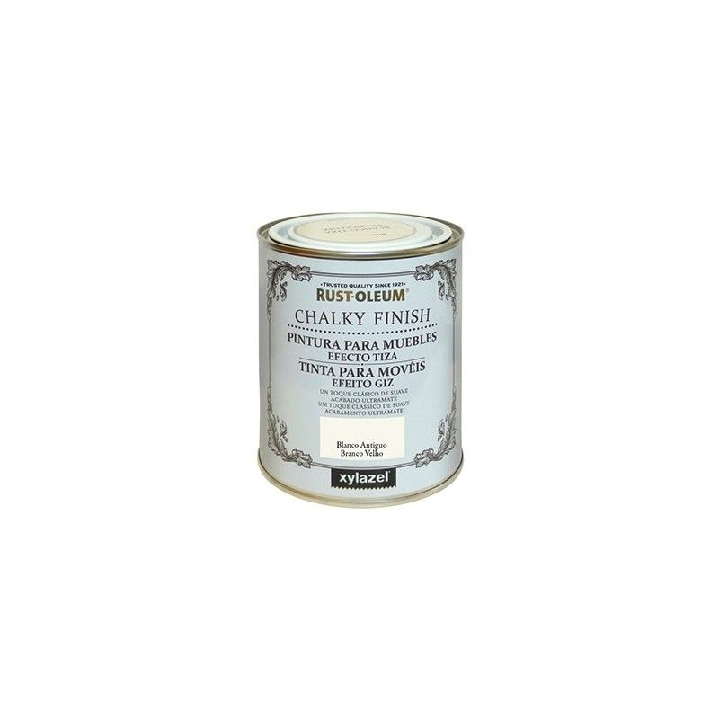 Lata chalky finish 125 blanco antiguo - XYLAZEL