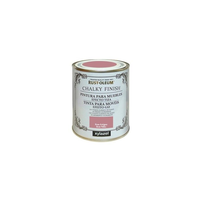 Lata chalky finish 125 rosa antiguo - XYLAZEL