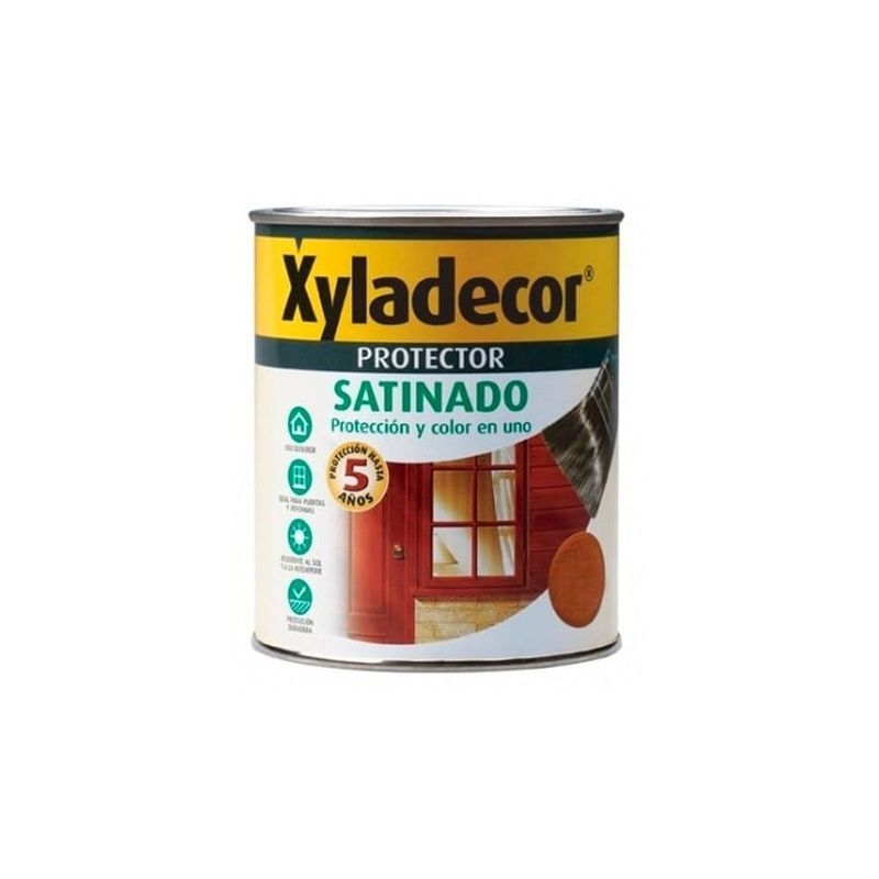 XYLADECOR SATINADO 750 ML  Castaño