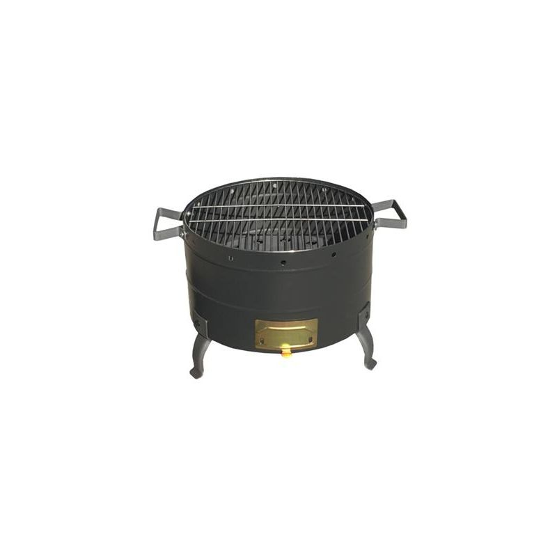 Barbacoa negro mate ø 34mm - Theca
