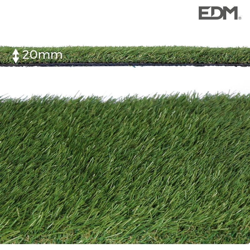 Cesped artificial graceful 20mm 2x5mts edm
