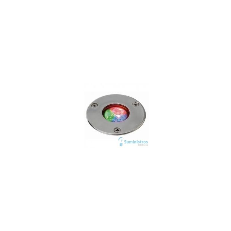 Empotrable Pal Slim Ip68 Led 4W Rgb Inox - CRISTHER