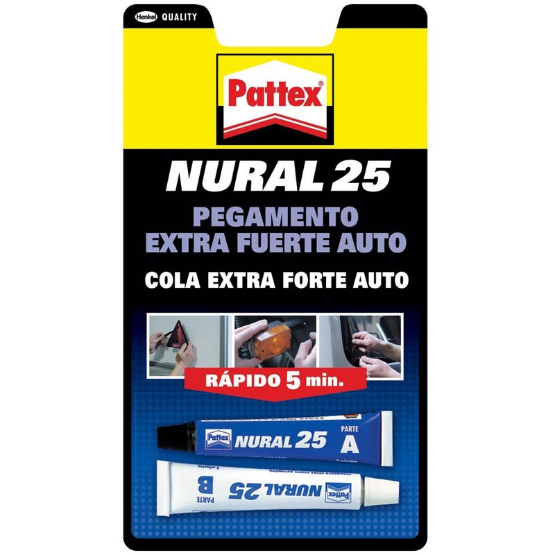 Pegamento Transparente - PATTEX NURAL 25 - 1674459 - 22 ML