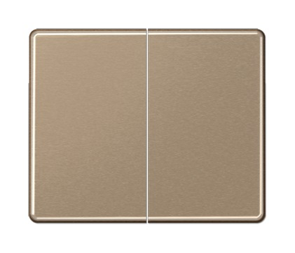 Tecla Doble Bronce-Oro Jung Sl595Gb