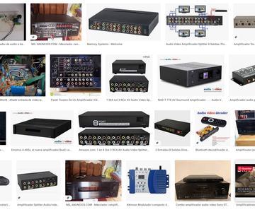 Los principales amplificadores de audio y vídeo