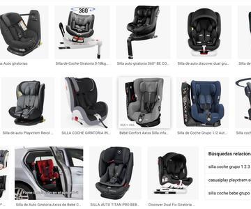 Mejor asiento de coche giratorio para bebé