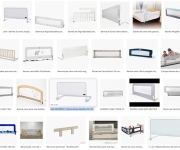 Las mejores barreras de cama para bebes