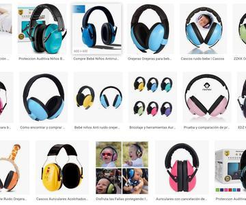 Mejores auriculares de protección auditiva para bebés
