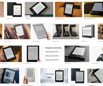 Los mejores lectores de Kindle
