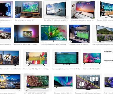 Los mejores televisores 4K