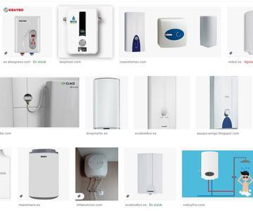 Los principales calentadores de agua eléctricos