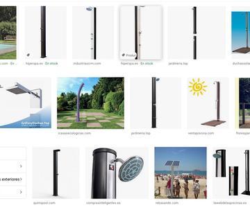 Las mejores duchas solares