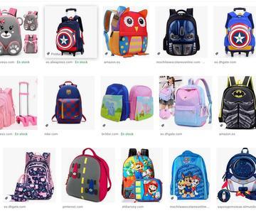 Las mejores mochilas para niños