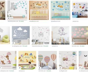 Las mejores pegatinas de pared para bebés