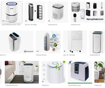 Los principales purificadores de aire