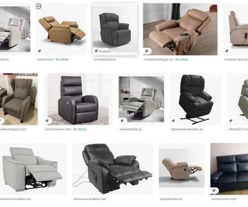 Las principales sillones eléctricos relax